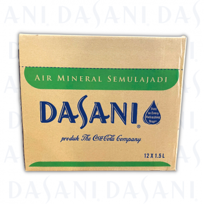 Dasani Natural Mineral Water 12x1.5L