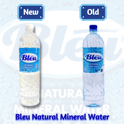 Bleu Natural Mineral Water 12x1.5L