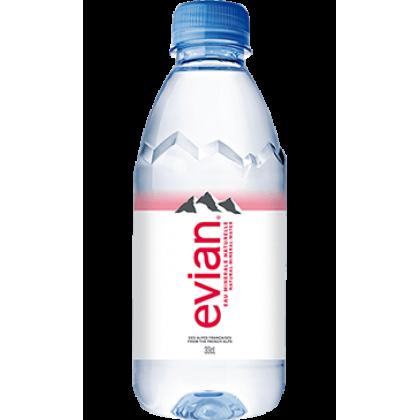Evian Natural Mineral Water 24x330ml