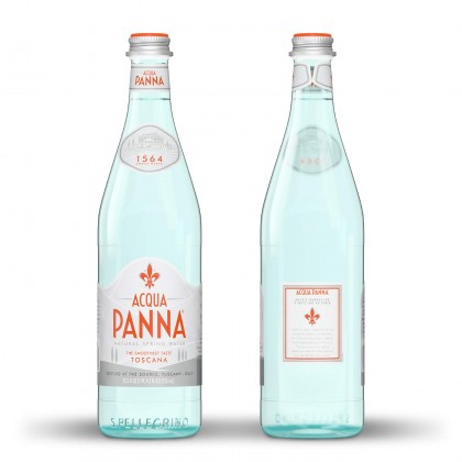 Acqua Panna Natural Spring Water (Glass Bottle) 12x750ml