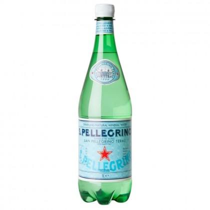 S.Pellegrino Sparkling Natural Mineral Water Plastic Bottle 12x1L