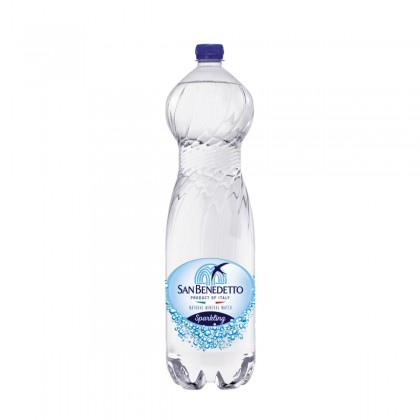San Benedetto Sparkling Natural Mineral Water 6x1.5L