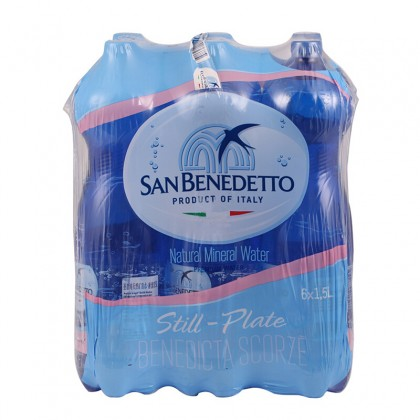 San Benedetto Still Natural Mineral Water 6x1.5L