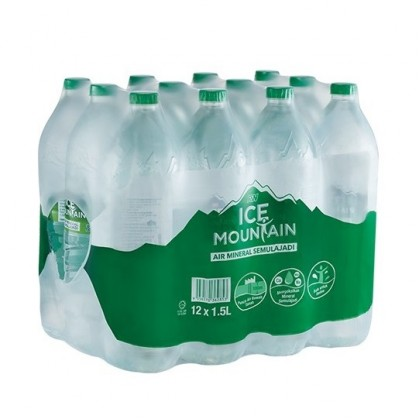Ice Mountain Natural Mineral Water 12x1.5L - 10 cartons package