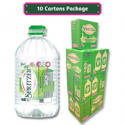 Spritzer Natural Mineral Water 2x9.5L - 10 cartons package
