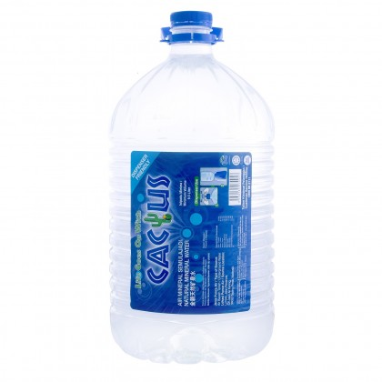 Cactus Natural Mineral Water Water 2x9.5L - 10 Cartons Package