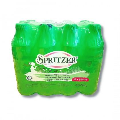 Spritzer Natural Mineral Water 12x600ml