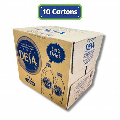 Desa Natural Mineral Water 12x1.5L - 10 Cartons Package